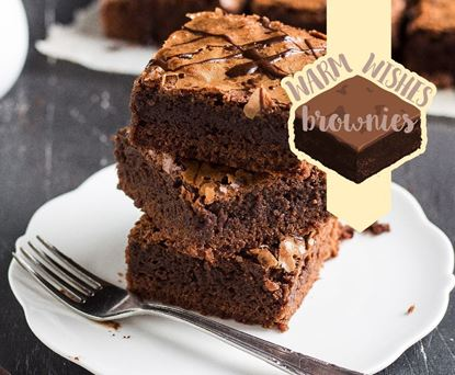 Picture of Warm Wishes Brownies